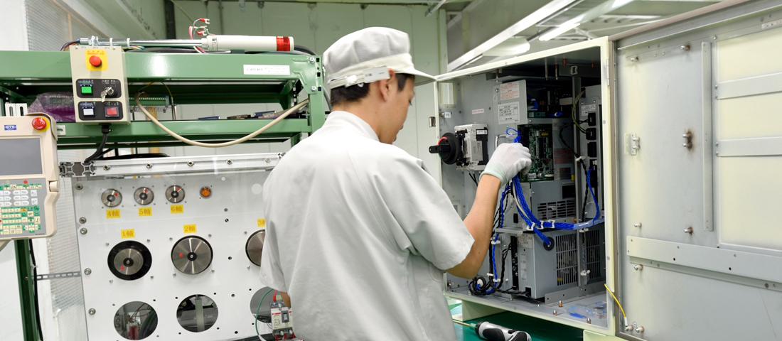 生産効率向上の取り組み | 岩崎電機製作所